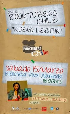 Charla Booktubers Chile