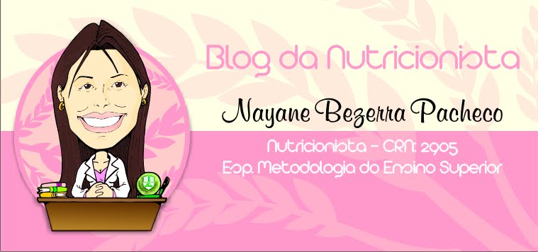 Blog da Nutricionista: