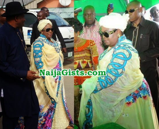 patience jonathan returns nigeria