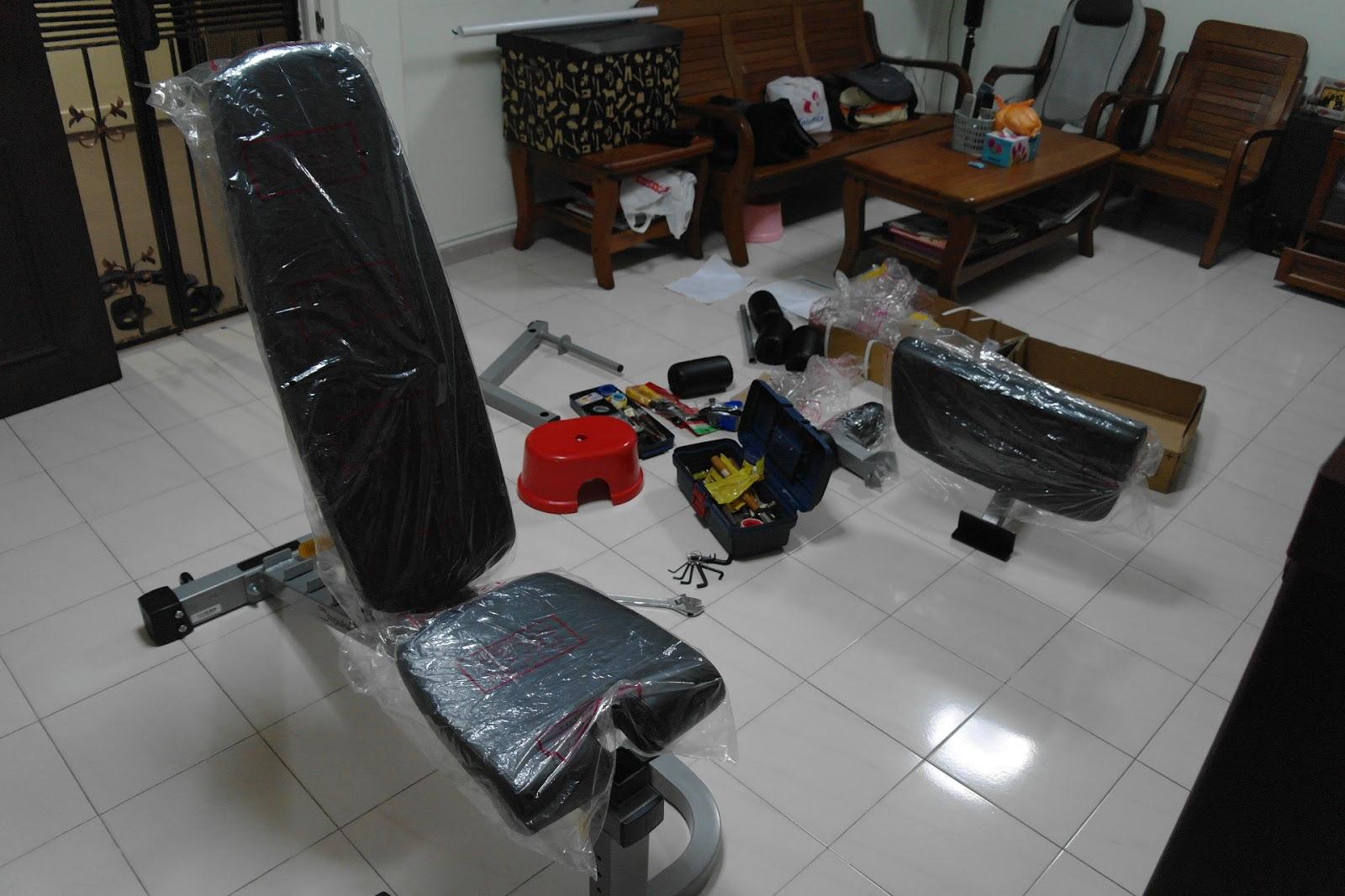 Singapore home gym undergoes