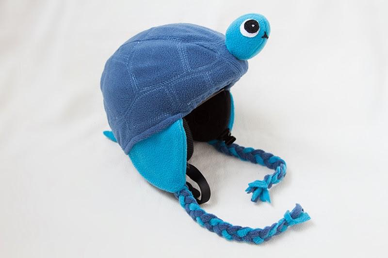 Schildkröten-Skihelmüberzieher inkl. Schnittmuster | von mri