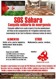 CAMPAÑA SOLIDARIDAD PUEBLO SAHARAUI