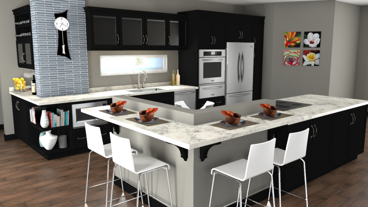Charmant Countertop: Bianca Luna 180FX By Formica In Google SketchUp