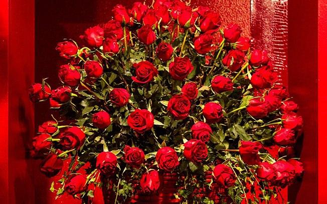 jardim de rosas vermelhas:Image As Rosas Vermelhas S O Destaque Dos Ambientes Rom Nticos Na