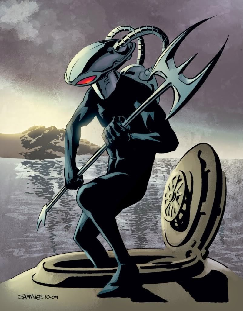 Gambar Kartun Black Manta