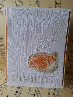 fresh crafts blog: peaceful sleeping fox