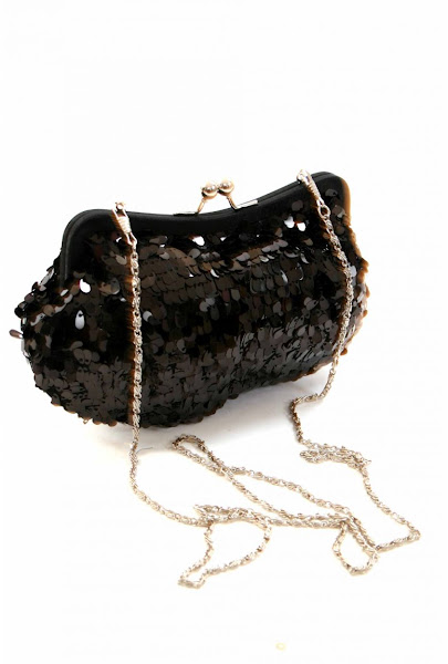 Sparkly clutch purse collection