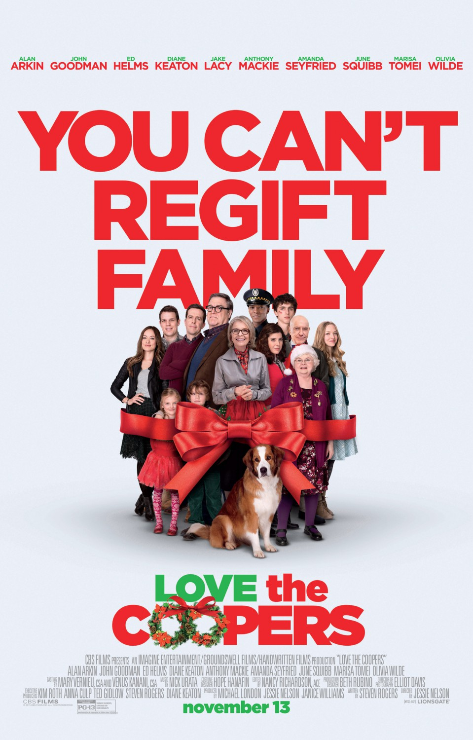LOVE THE COOPERS Trailer, Clips, Images and Posters | The ...