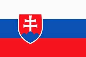 Slovakya Bayrak