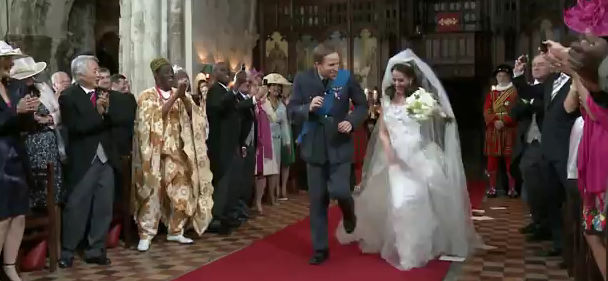 T-Mobile mariage Kate William