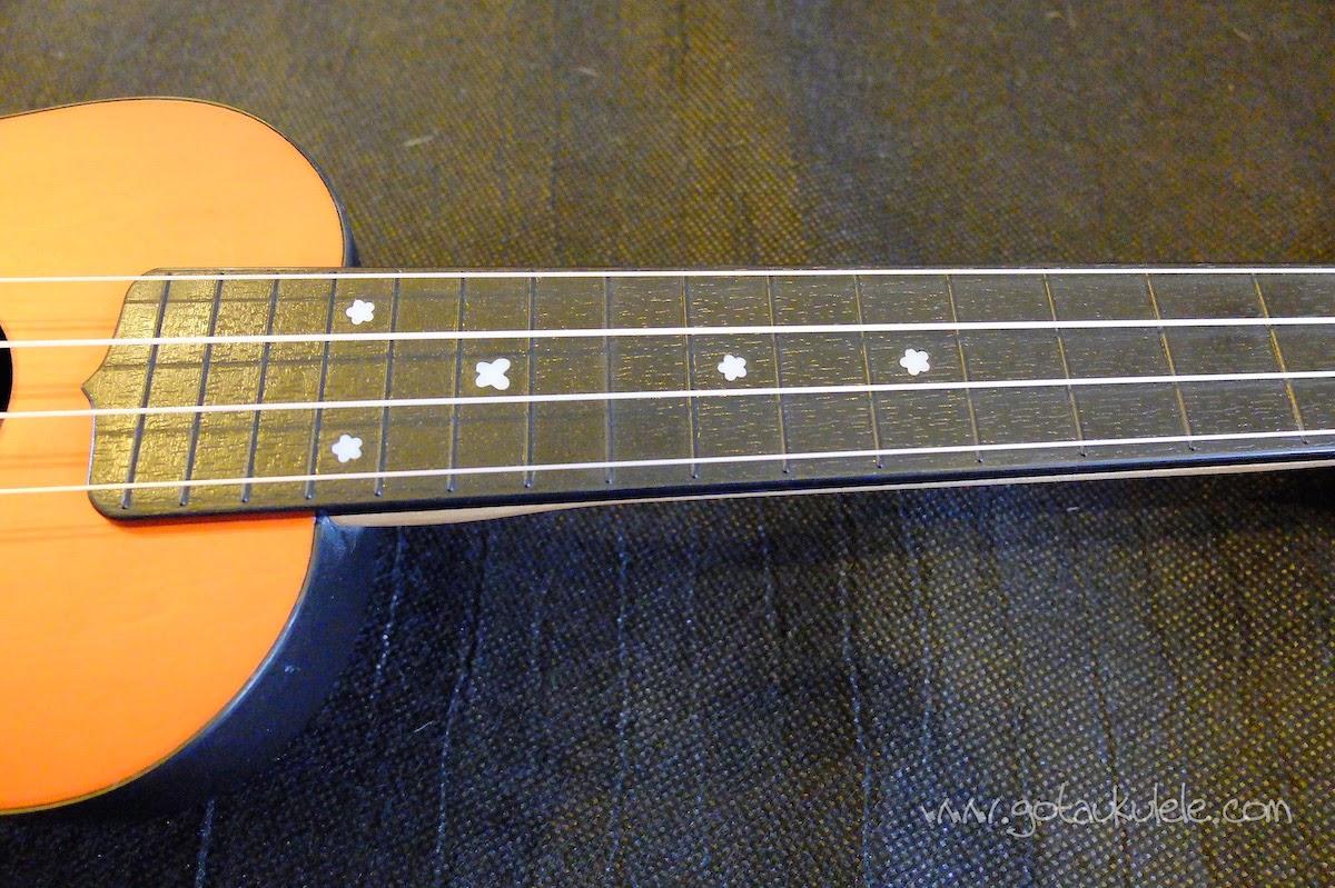Alic Soprano ukulele fingerboard