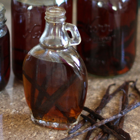 Kitchen Tip: How To Make Homemade Vanilla Extract and Vanilla Sugar recipe by Barefeet In The Kitchen