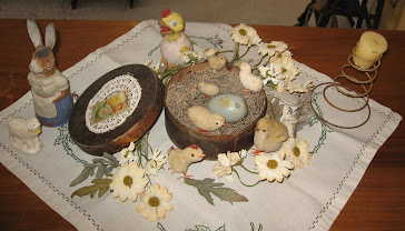 Antique Easter Display