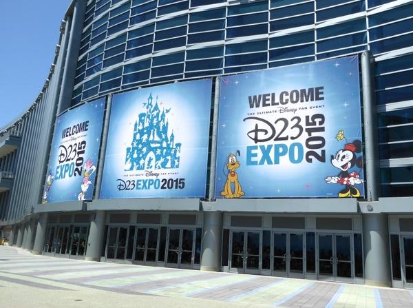 Disney D23 Expo Anaheim Convention Center