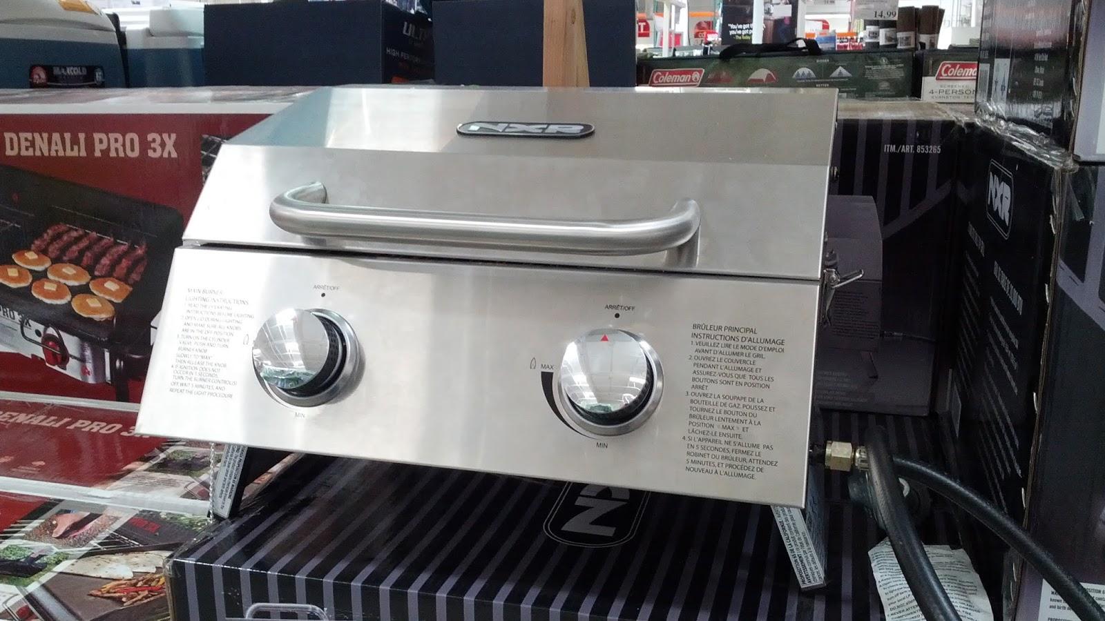 Kitchenaid Gas Grill Costco duro nxr table top gas bbq grill | costco weekender