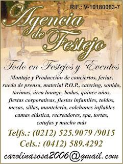 AGENCIA DE FESTEJOS en Paginas Amarillas tu guia Comercial