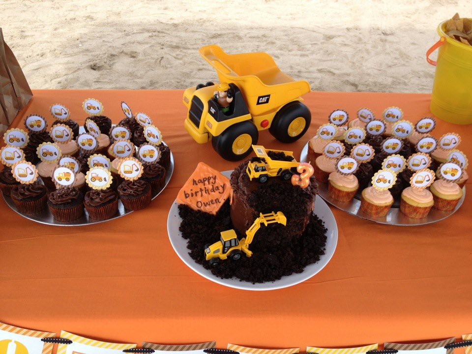 Frost Cake Co Dump Truck Beach Party