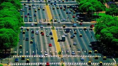 Where is the widest highway in the USA (and if not in the