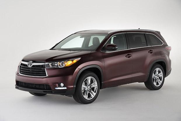 новый Toyota Highlander 2014