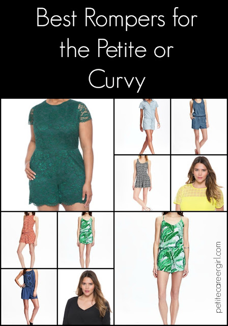 Curvy, Petite Outfit Ideas | Professional and Casual-Chic Fashion and Style Inspiration | Jumpsuits & Rompers (Weekend Style)