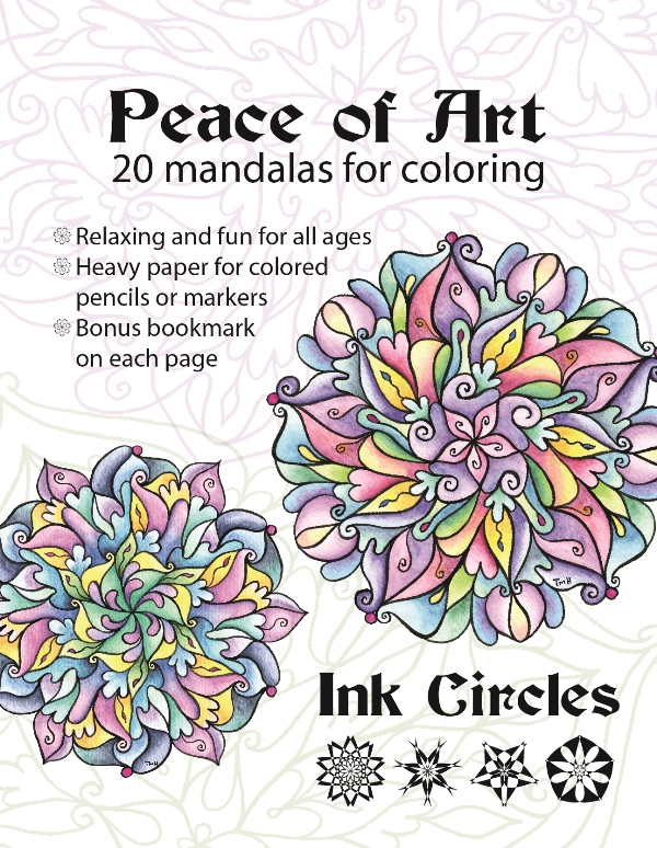 Ink Circles Is Publishing A Coloring Book This What The Cover Looks Like