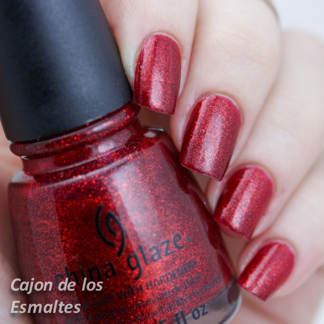 China Glaze - Ruby pumps