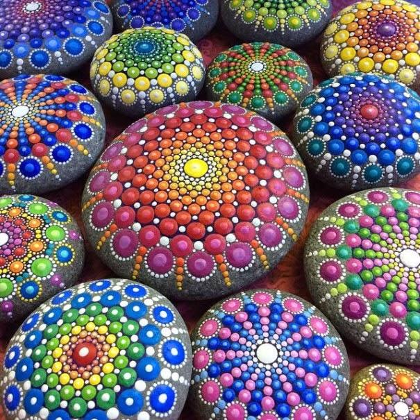colorful ocean stones Elspeth McLean