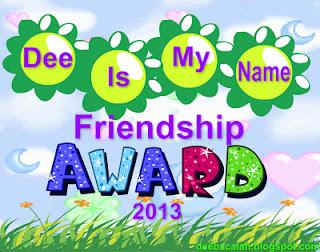 Award Dee Is My Name