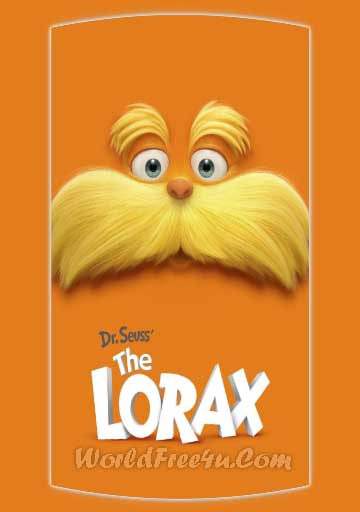 Poster Of The Lorax (2012) Full Movie Hindi Dubbed Free Download Watch Online At 300Mb.cc