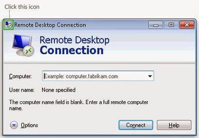 Cara menggunakan Remote Desktop Connection