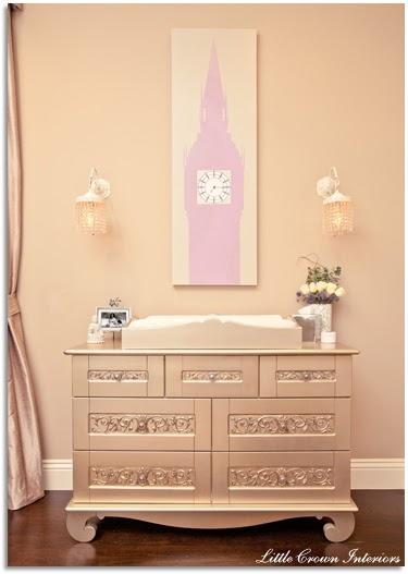 Custom Nursery Art By Kimberly Real Life Room Purple