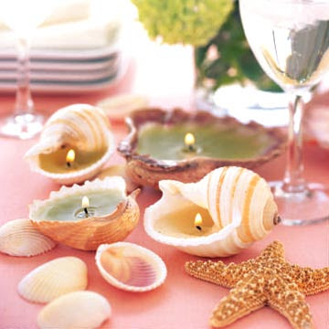 Craft Ideas Seashells on Top 5 Seashell Candle Ideas   Diy Home Decoration