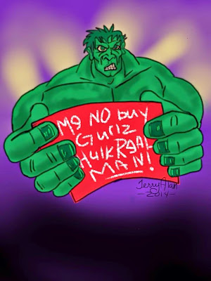 Hulk - real men don't buy girls