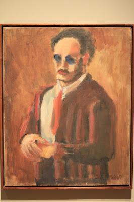 Rothko: Portland Art Museum - Self Portrait 1936