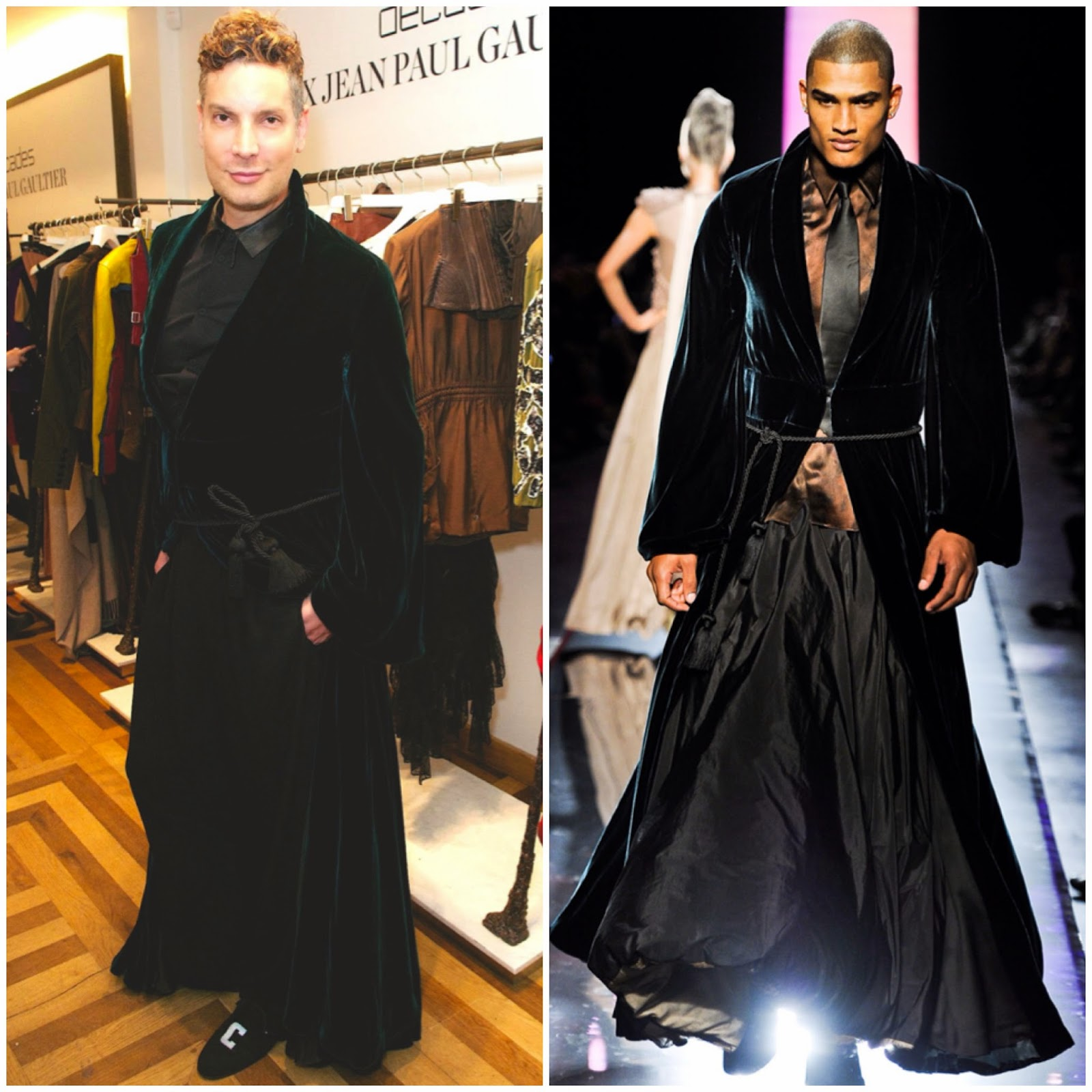 Cameron Silver in Jean Paul Gaultier Couture - MATCHESxDECADES Launch Party