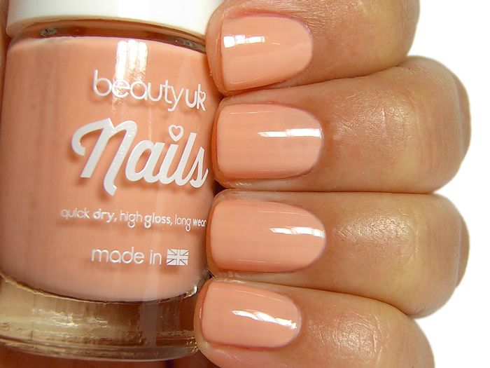 Beauty UK Nails - Let's Hit the Peach