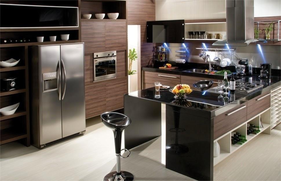 Cozinhas planejadas fotos e modelos toda atual for Cocinas modelos 2016