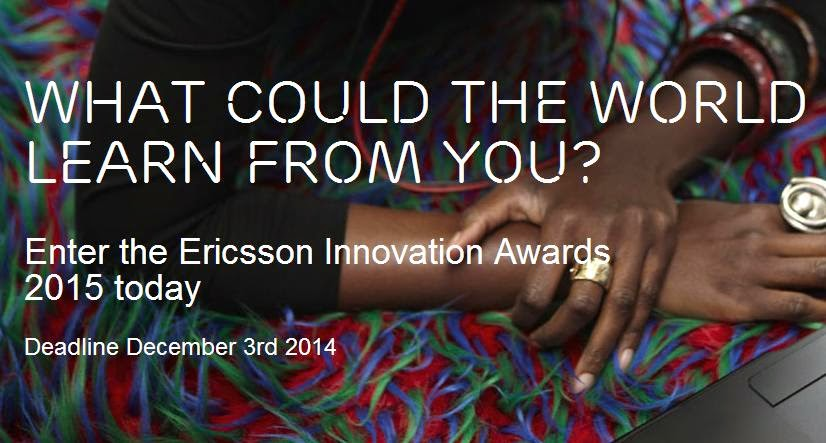 Ericsson Launches Global Innovation Awards 2015