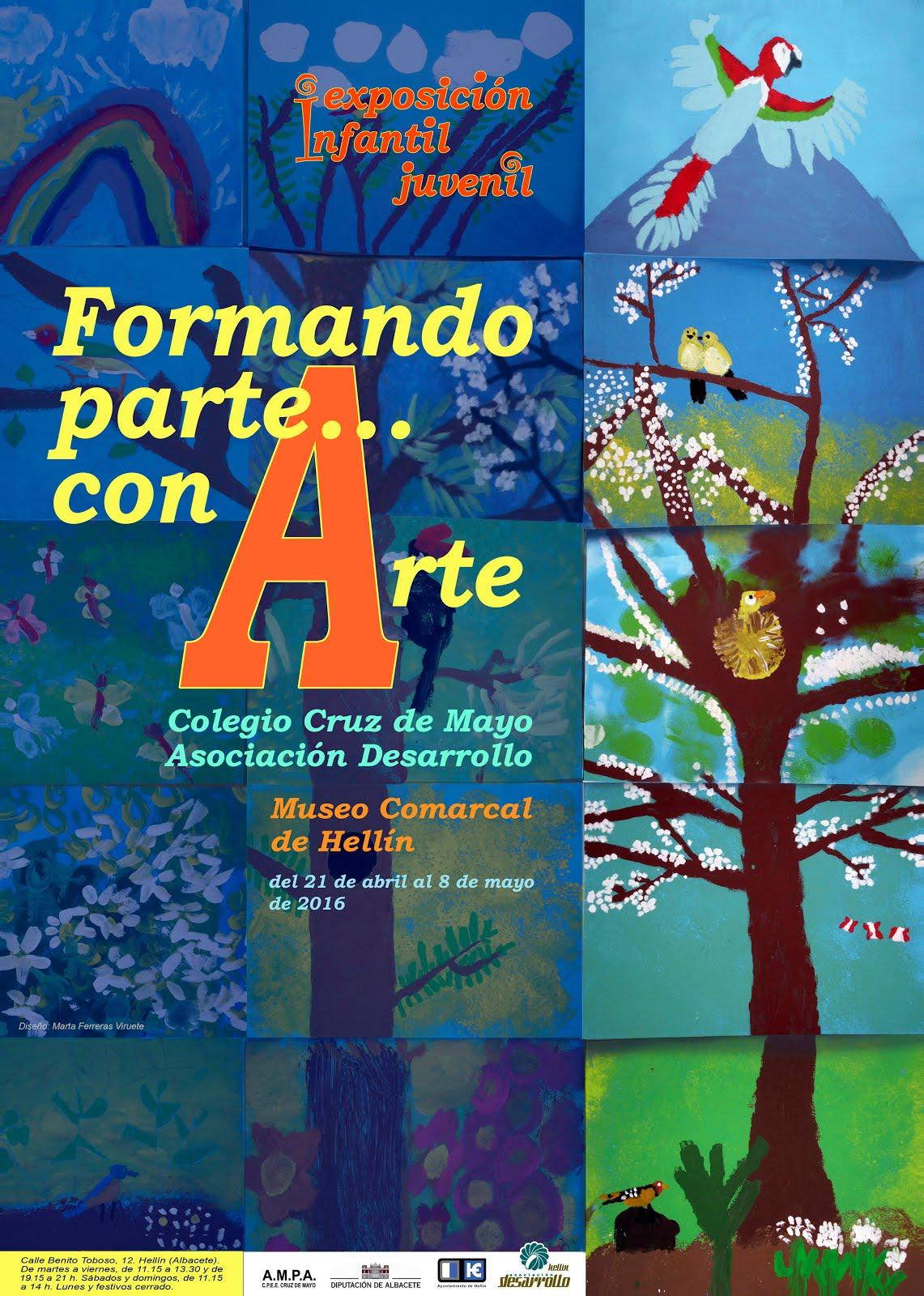 Exposición FORMANDO PARTE.. CON ARTE