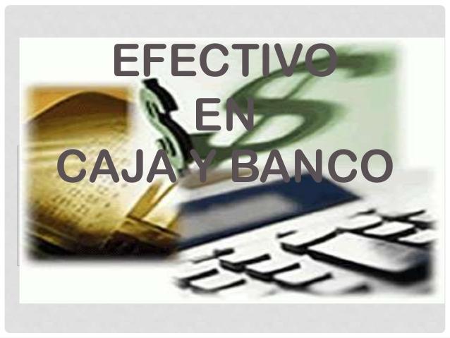 Auditoria i auditoria caja y bancos for Pisos de bancos y cajas