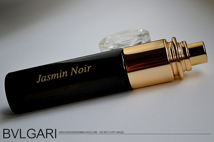 Bvlgari Jasmin Noir Eau de Parfum Designer Fragrance Perfume for Women Reviews Ingredients Fall Winter EDP Makeup Indian Beauty Blog