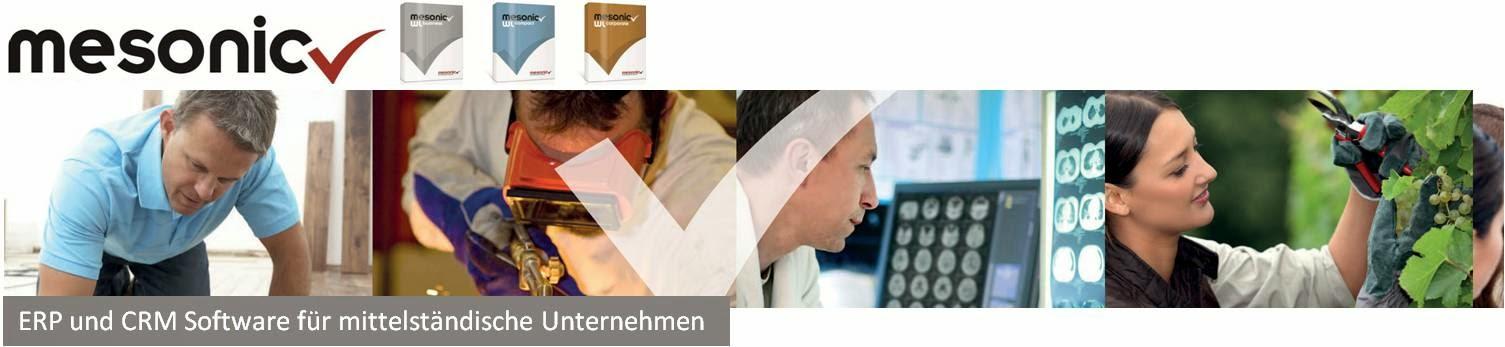 mesonic - Die ERP- und CRM- Lösung.