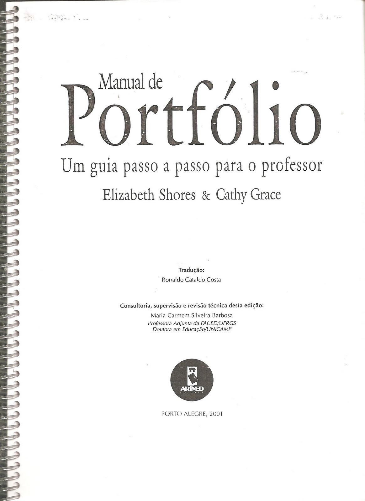 Professora tati sim es manual de portfolio como montar for Manual de acuicultura pdf