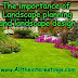 The importance of Landscape planning and landscape design