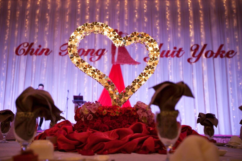 Centro mall wedding