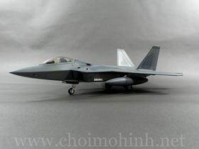 Máy bay mô hình tĩnh Lockheed F-22 Raptor hiệu Hobby Master tỉ lệ 1:72