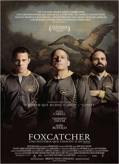 Download Foxcatcher Uma História que Chocou o Mundo 720p + 1080p WEBRip + AVI HDRip Legendado Torrent