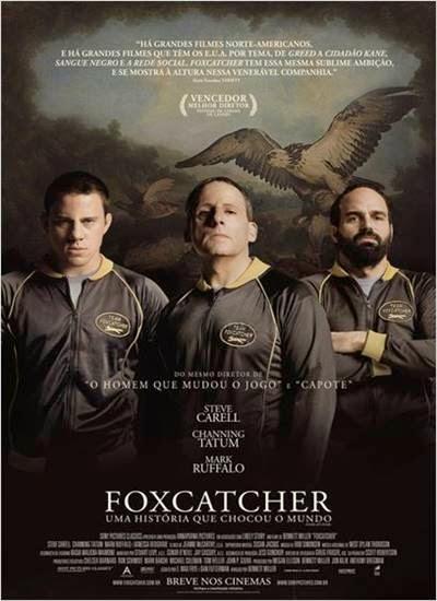 Capa Foxcatcher Uma História que Chocou o Mundo