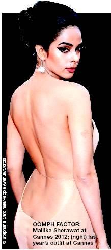 Mallika sherawat Cannes 2012 backless dress - Mallika sherawat BRAND NEW CANNES 2012 HOTTesST DRESS !!!