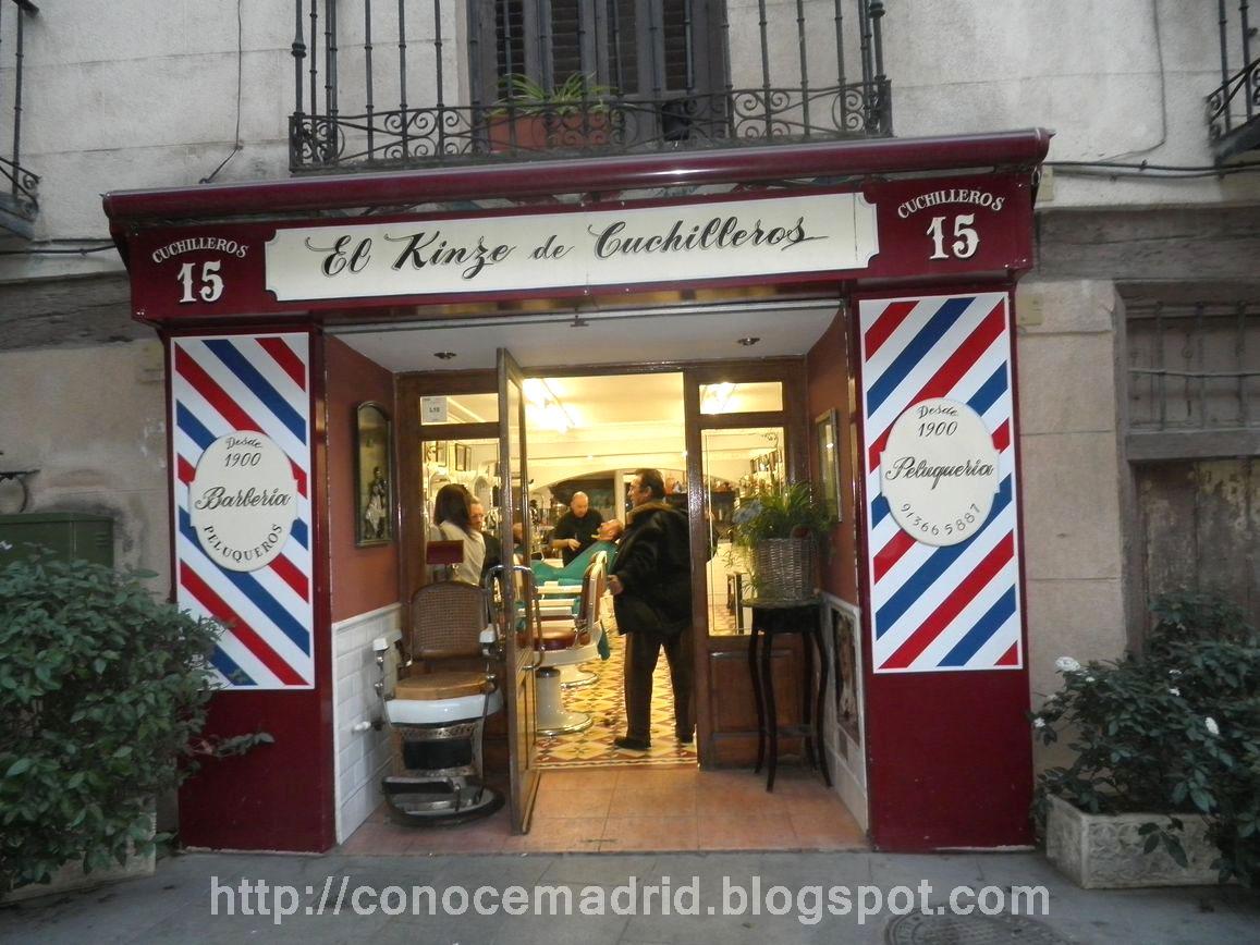 Conocer madrid marzo 2012 - Fachadas de peluquerias ...
